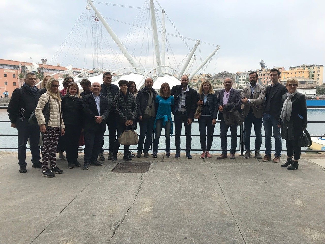 Viaggio Studio in Liguria Commissione regionale enti cooperativi
